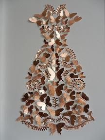 Mandarin Collar  mixed media  78 x 58 cm