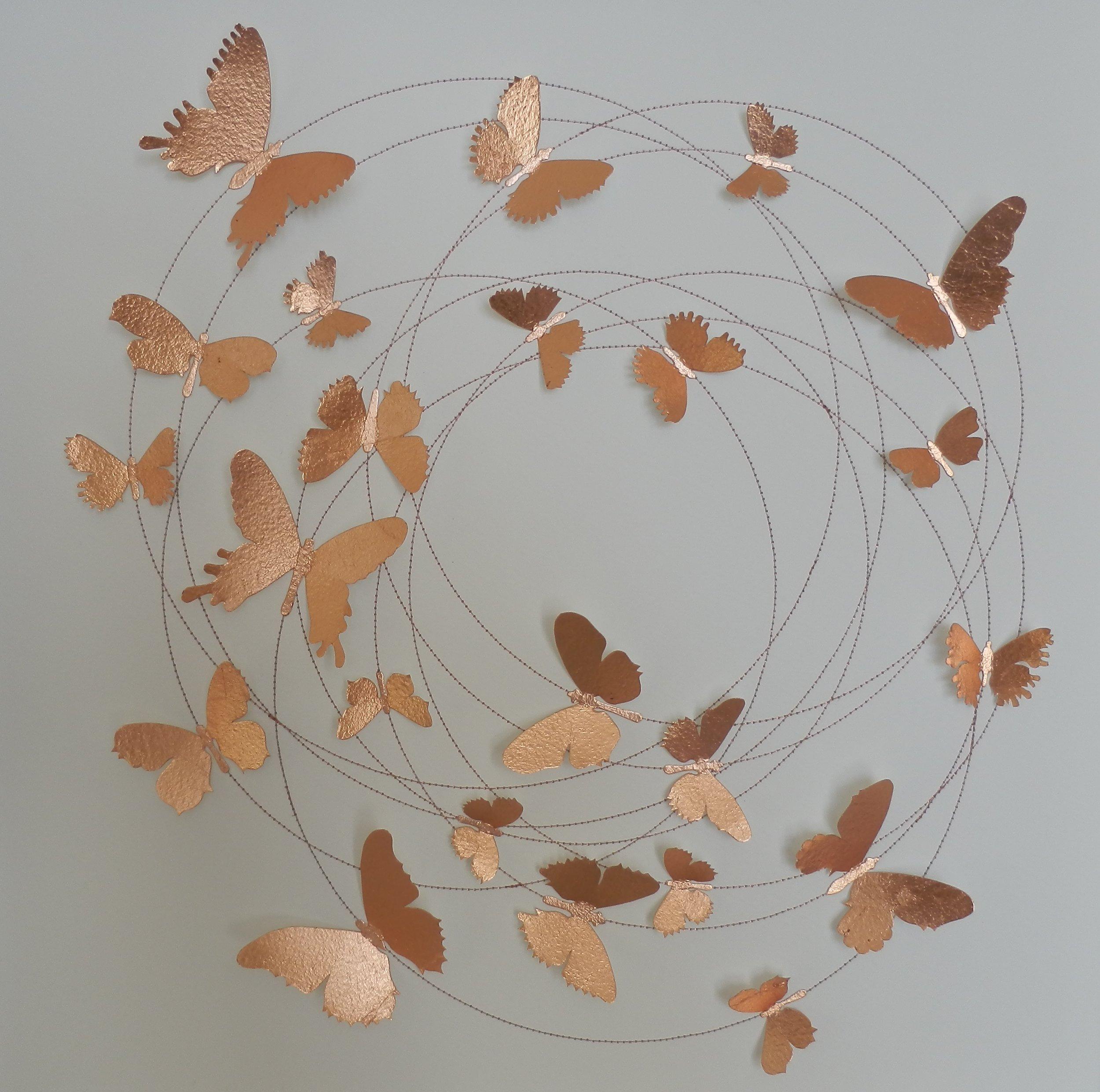 Rabble  Copper  53 x 53 cm