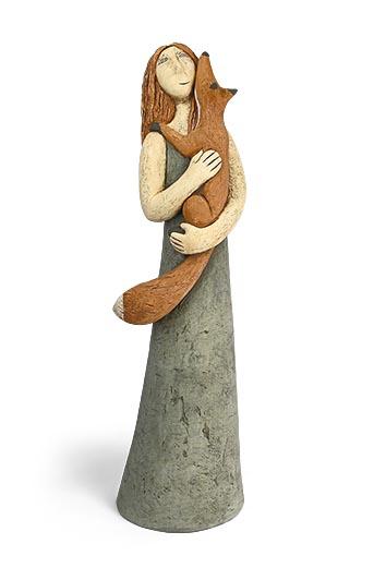 Foxy lady  hand built clay  56 x 16cm   £850