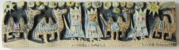 Kings and Camels  ceramic  25 x 7 cm  £75