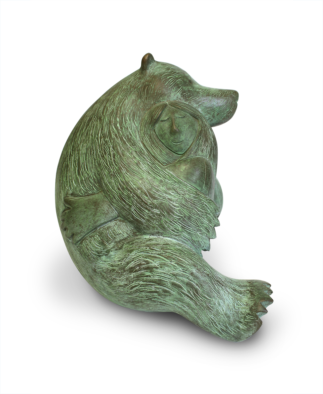 Into the woods  bronze resin  £625