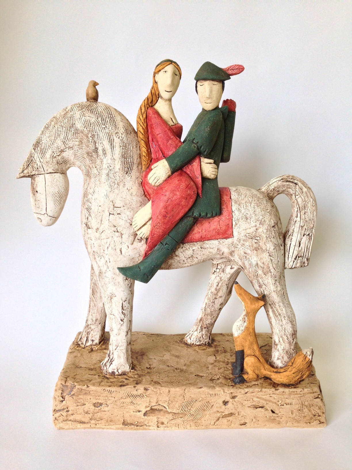 In The Greenwood  hand built clay  £1,650