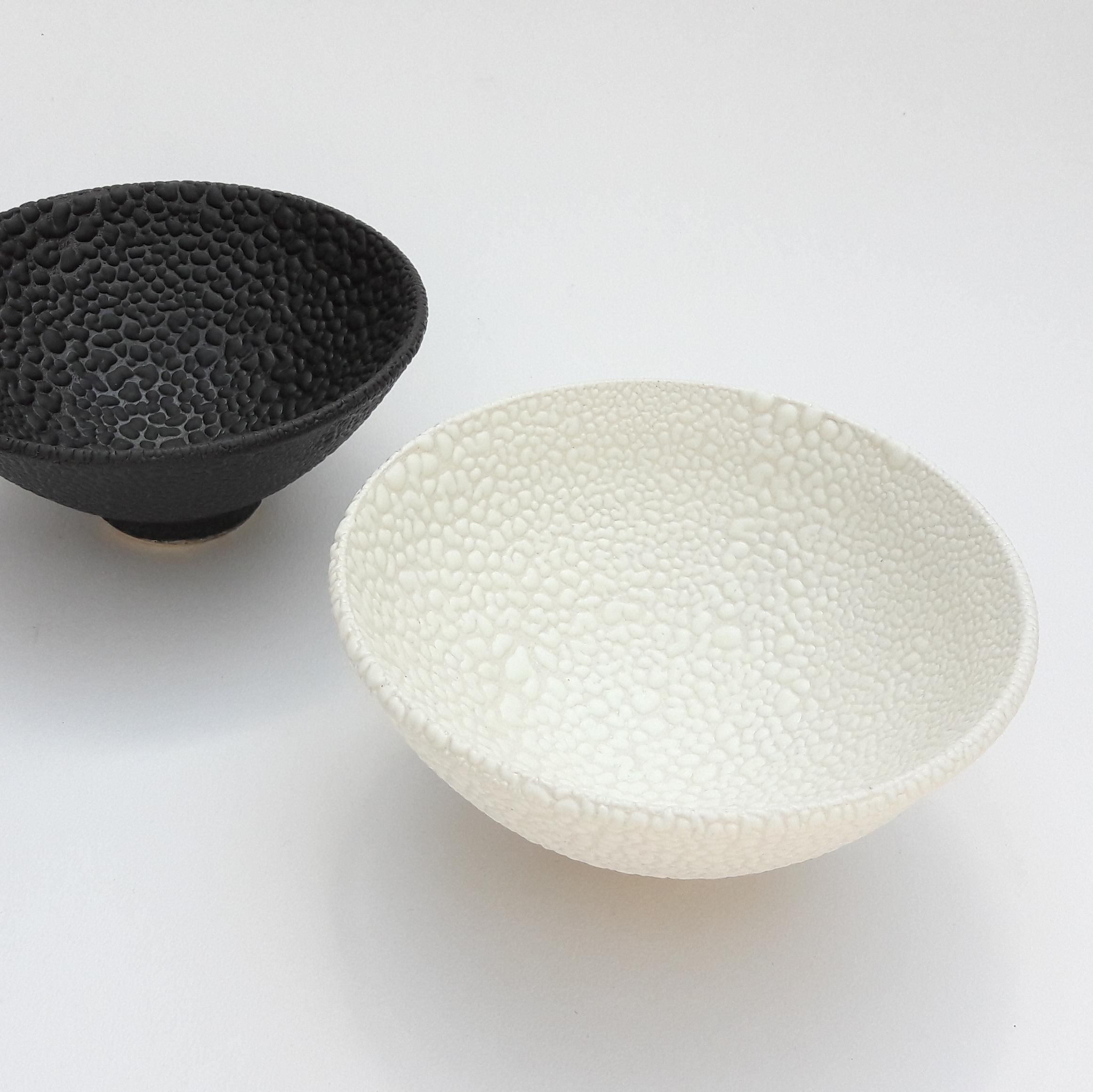 Bead Glazed Bowl  ceramic  15cm diameter £30  20cm diameter £65