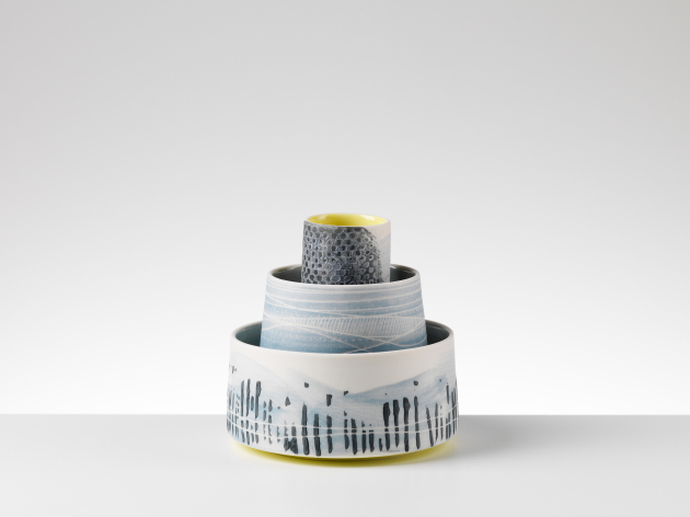 Set (3 Pieces)  ceramic  sold