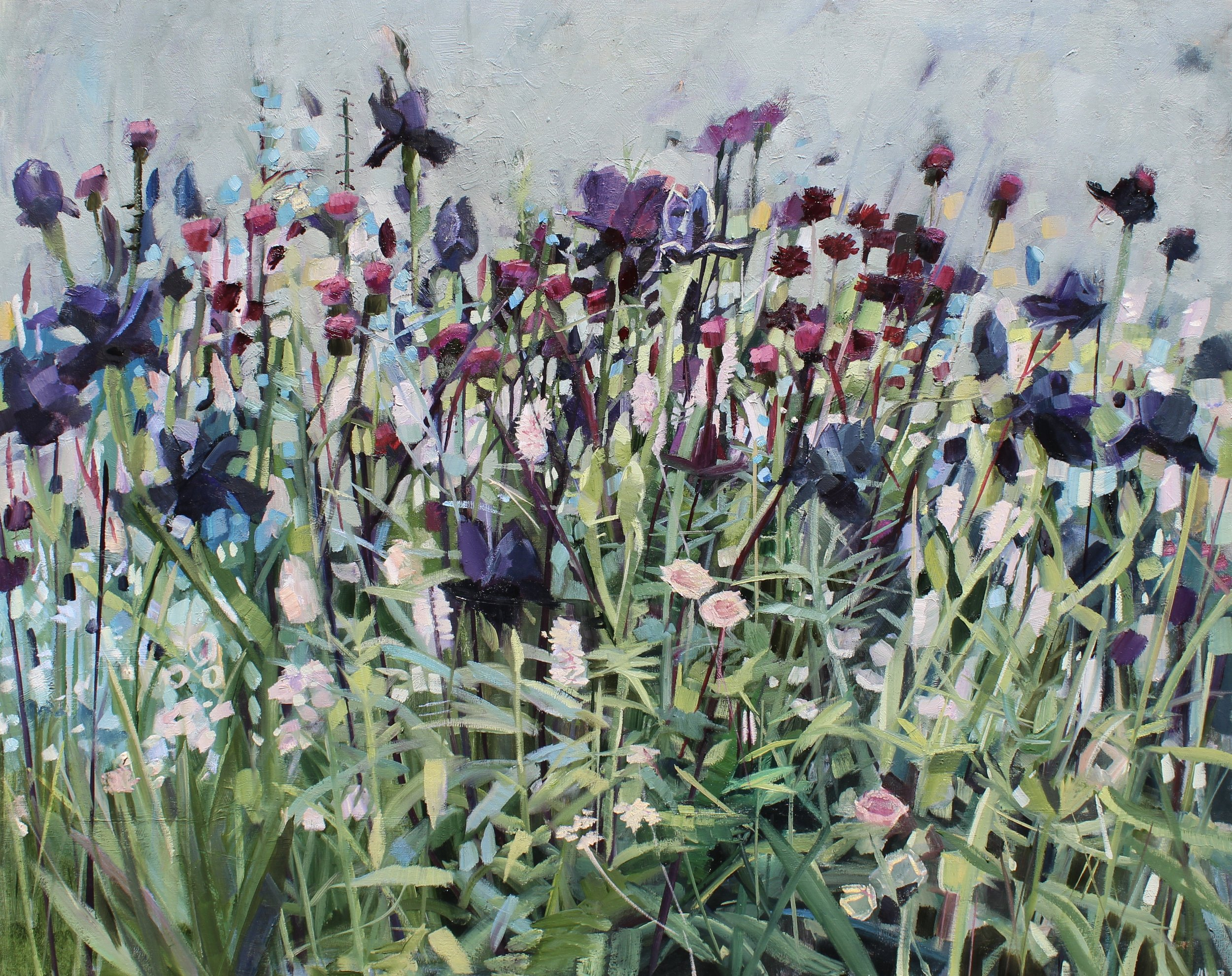 May Garden II  oil on linen  60 x 75cms  SOLD