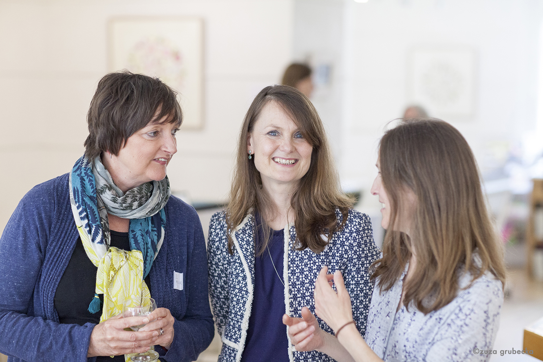 From left: Helen Millar, Anne-Marie Butlin and Ruth Beloe