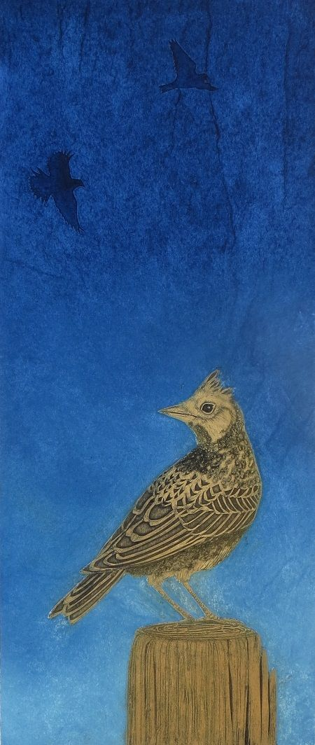 The Summer Bird  Collagraph  EDITION SOLD OUT