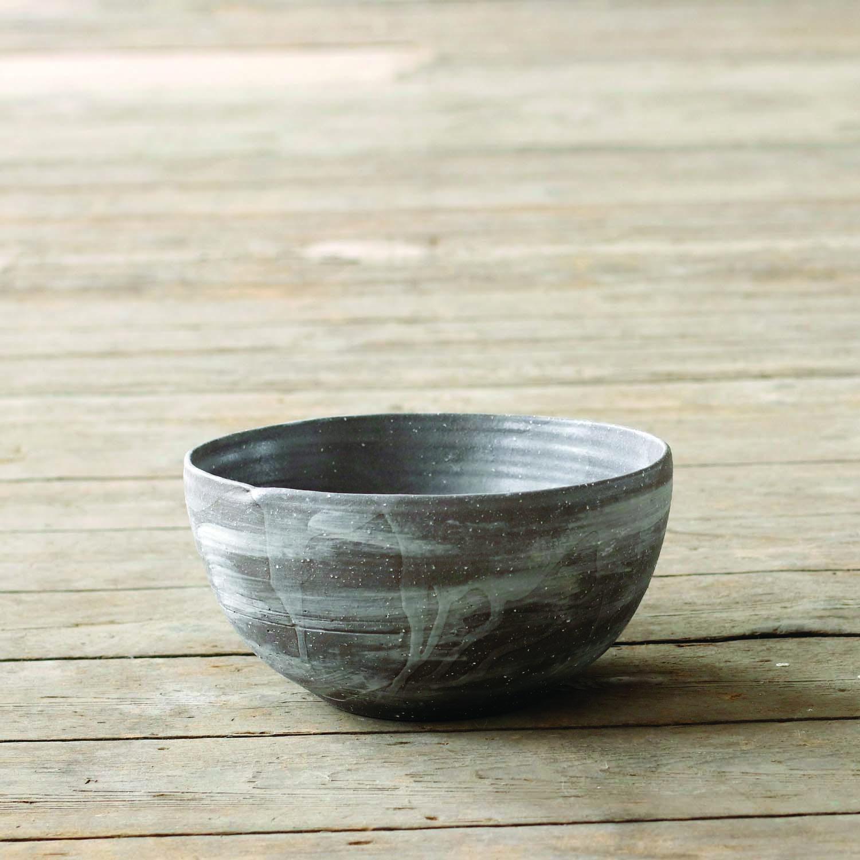 Brushed Bowl  ceramic  24cm h x 11cm w  £85