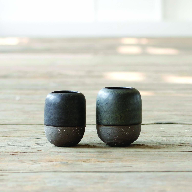 Baby Acorn Vase  ceramic  8cm h  £25