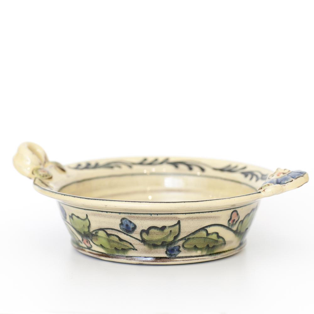 Hen-Be-Handed Bowl  ceramic  20x18x4.5cm  £40