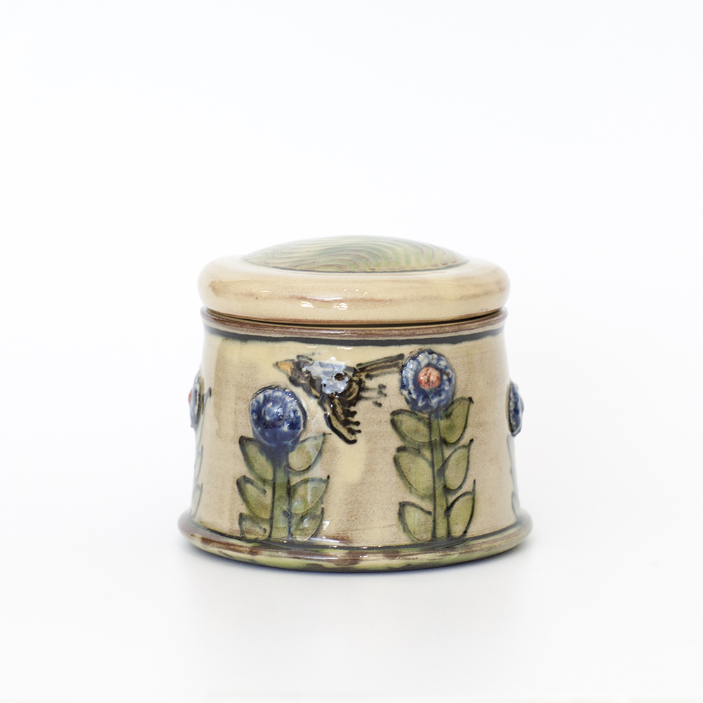 Bird Jar  ceramic  11x8cm  £44