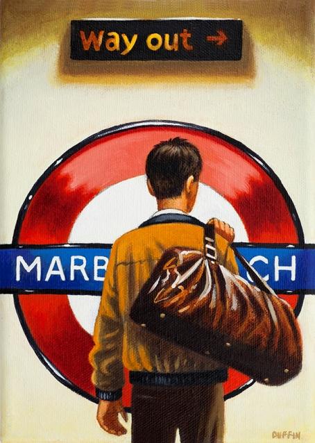 Marble Arch  Oil  21 x 15 cm   £495