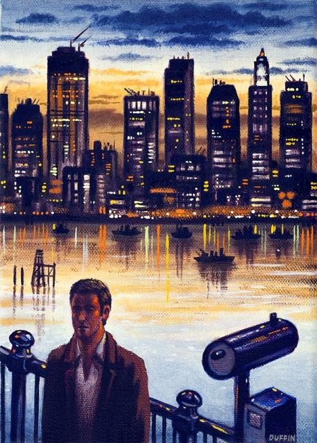 NYC Nights  Oil  21 x 15 cm  £495