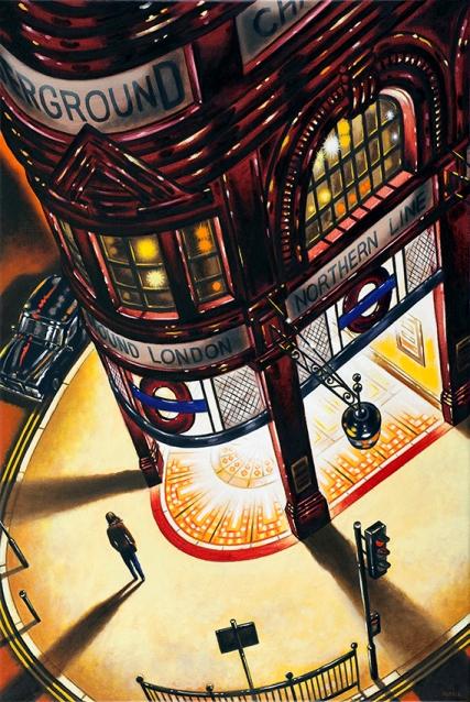 Tube Light 1  Oil  76 x 51 cm  £1995