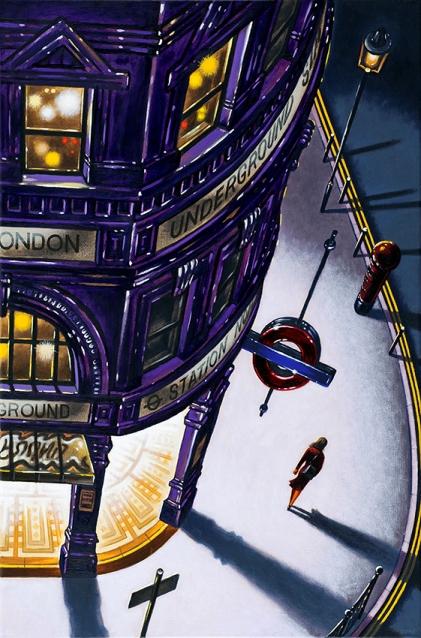 Tube Light 2  Oil  76 x 51 cm  £1995