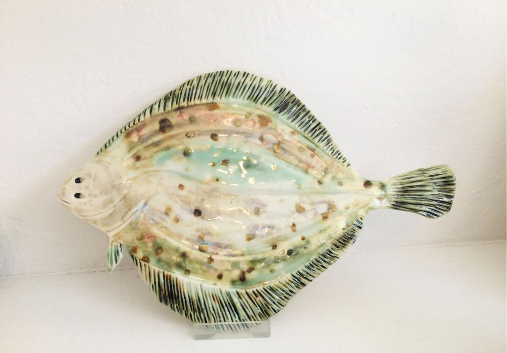 Flat Fish   ceramic  17 x 31cm  £55