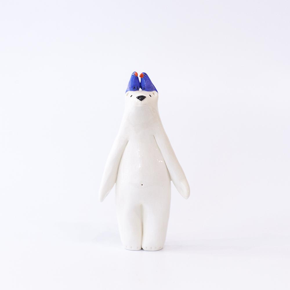Bear and Lovebirds  ceramic  £98
