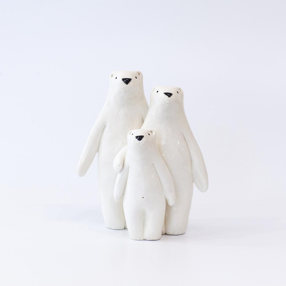 Bear Family  ceramic  sold