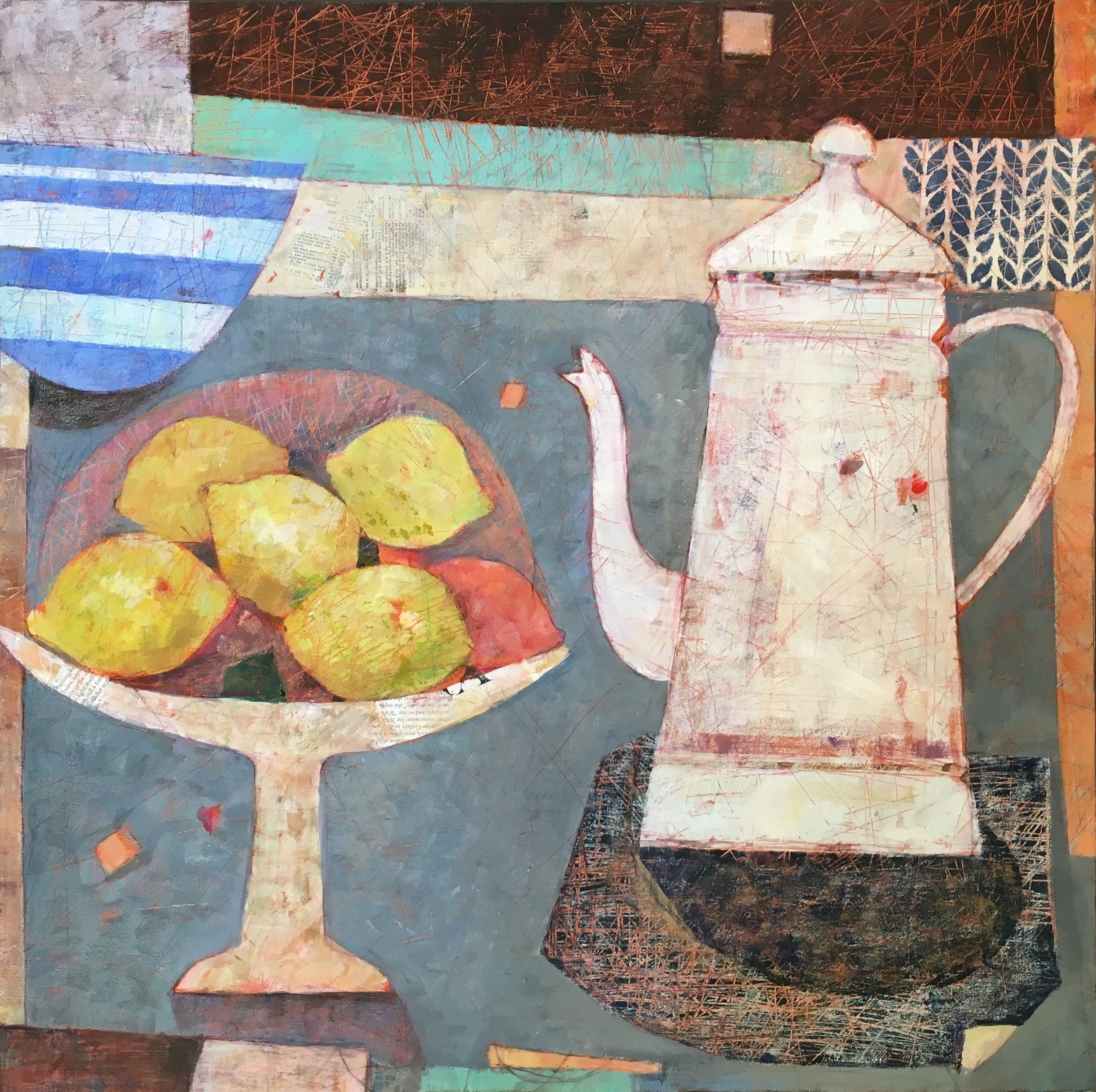 The Winter Table  61 x 61cm  sold