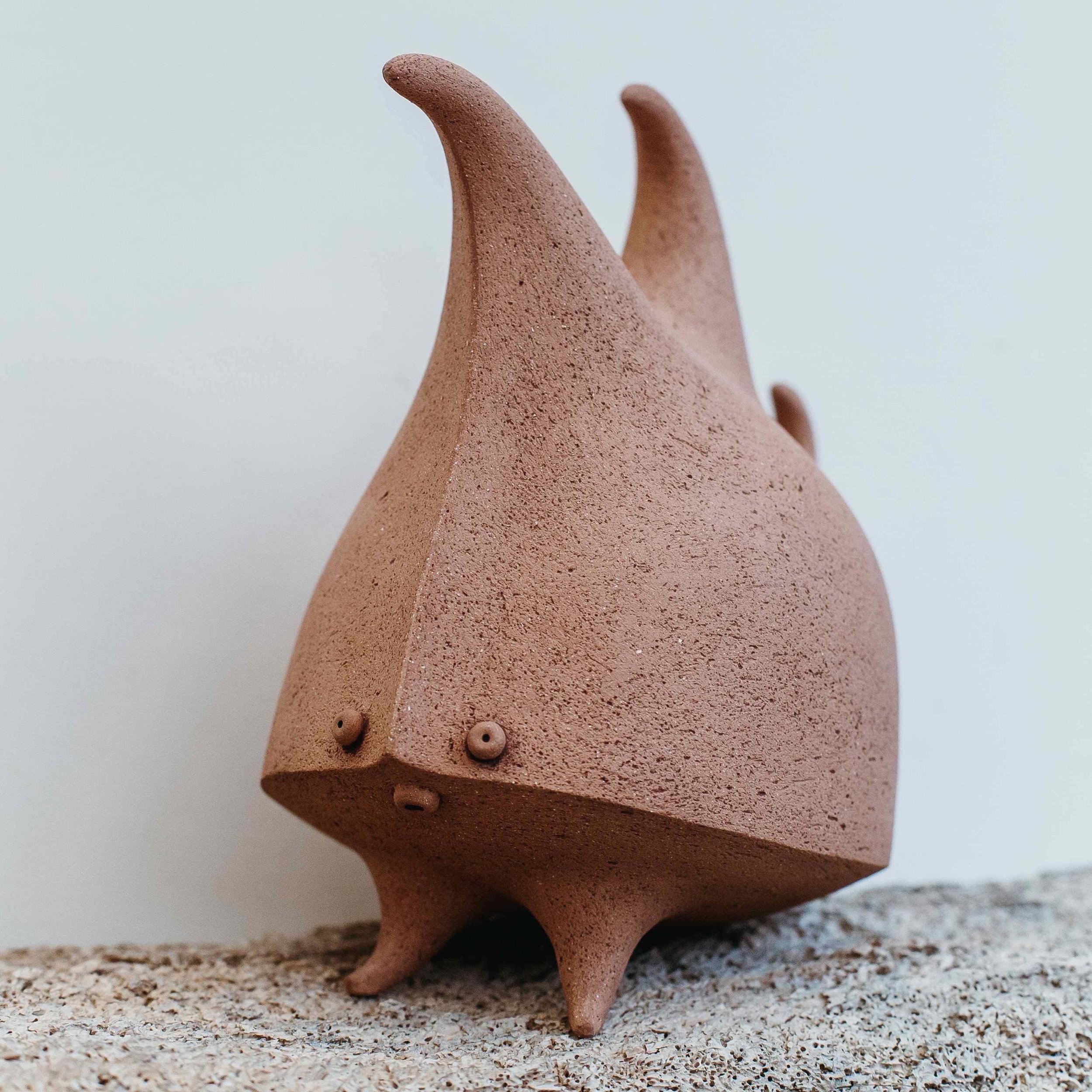 Silhouette Bug  ceramic  sold