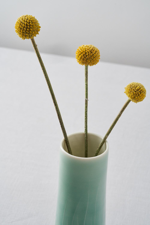 Cylinder vases  ceramic  various sizes 10cm x 22.5cm  £30-£95
