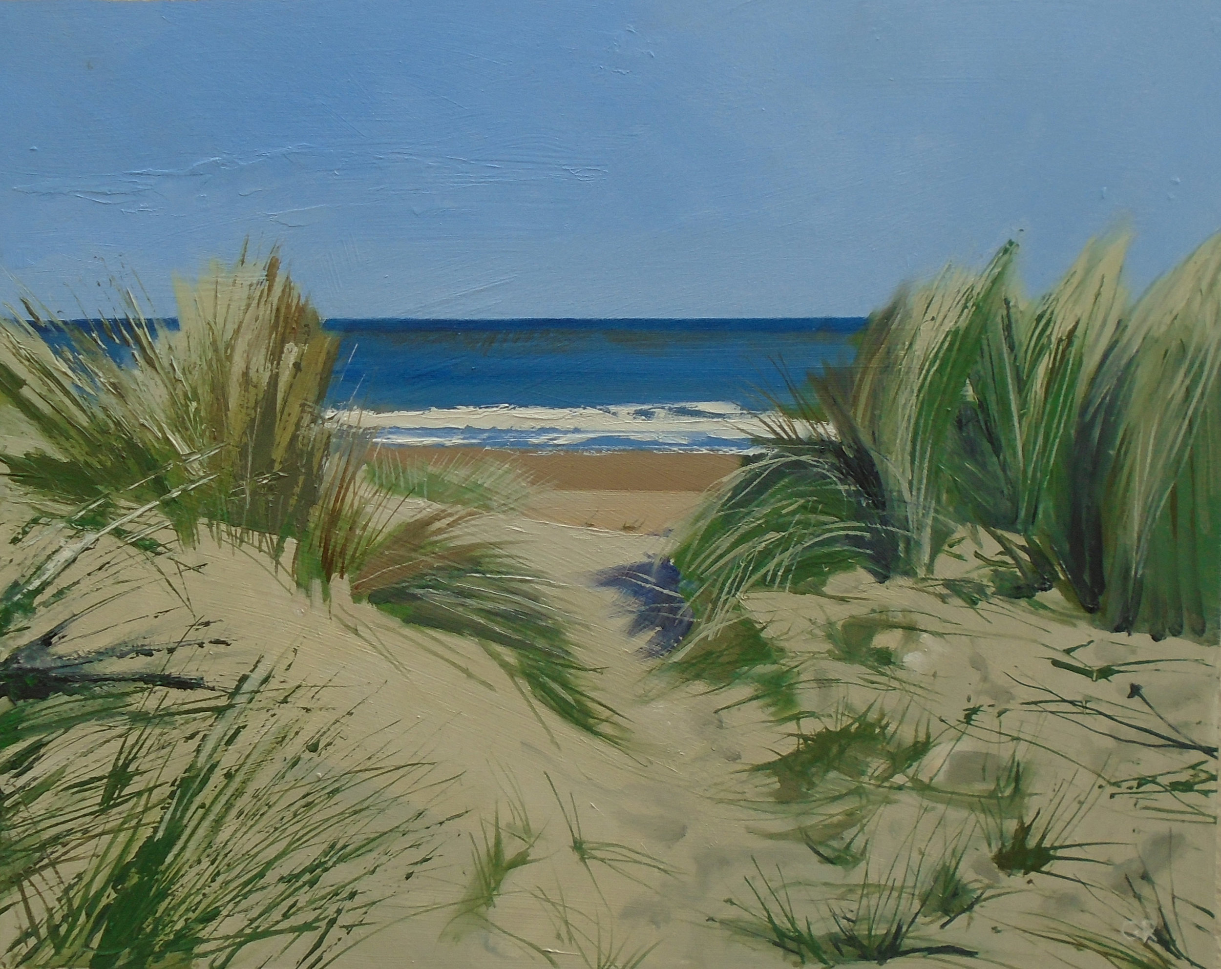 Morning Breeze  Oil on Board  39 x 49 cm  sold
