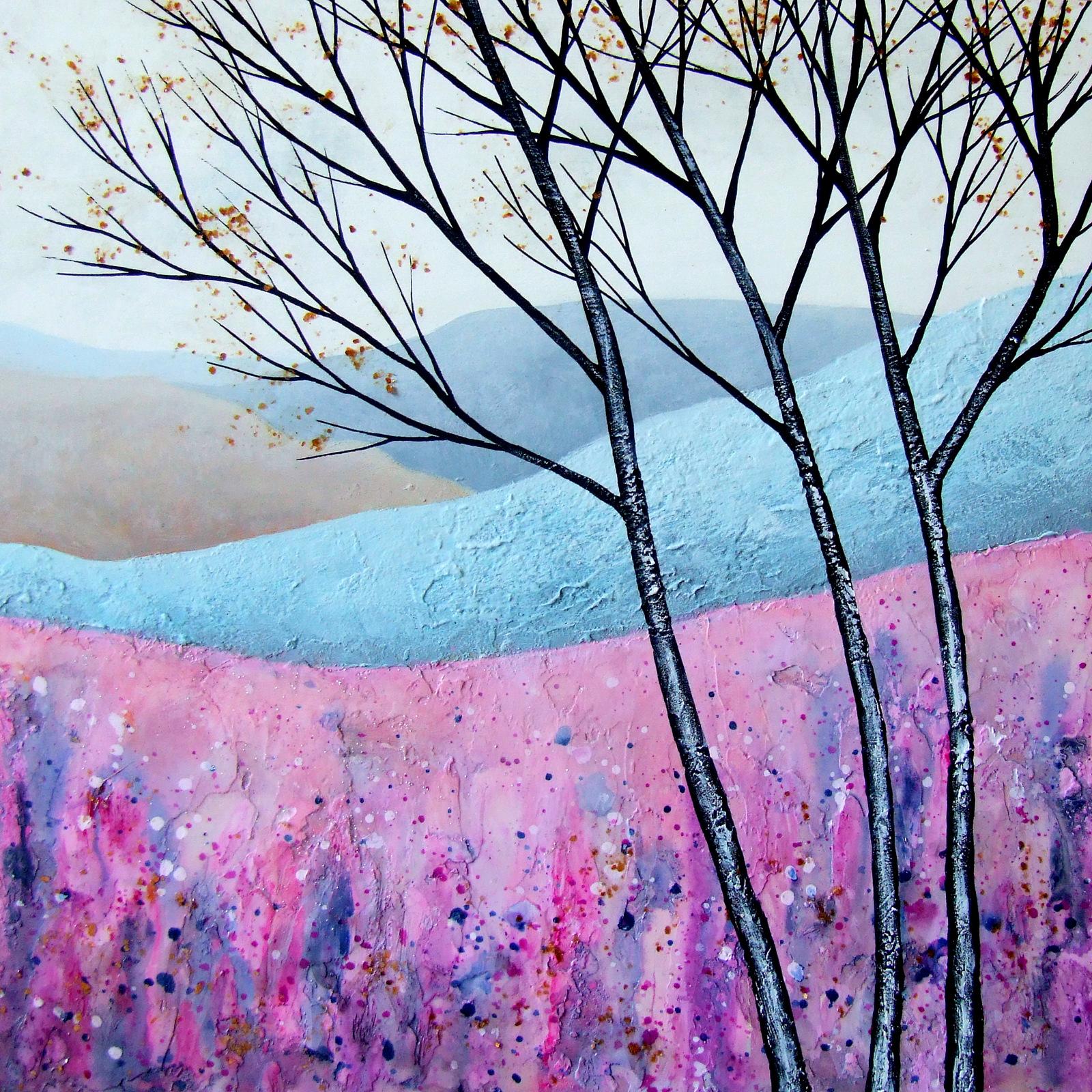 The Enchanted Land IV  acrylic  sold