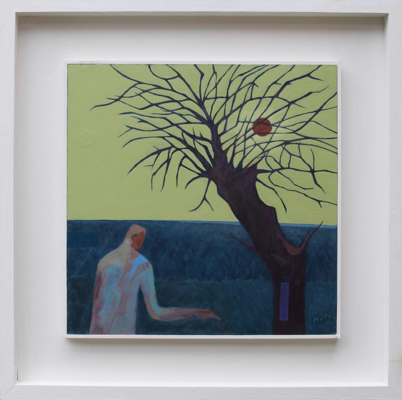 Twilight  acrylic on board  34 x 34 cm framed  £550