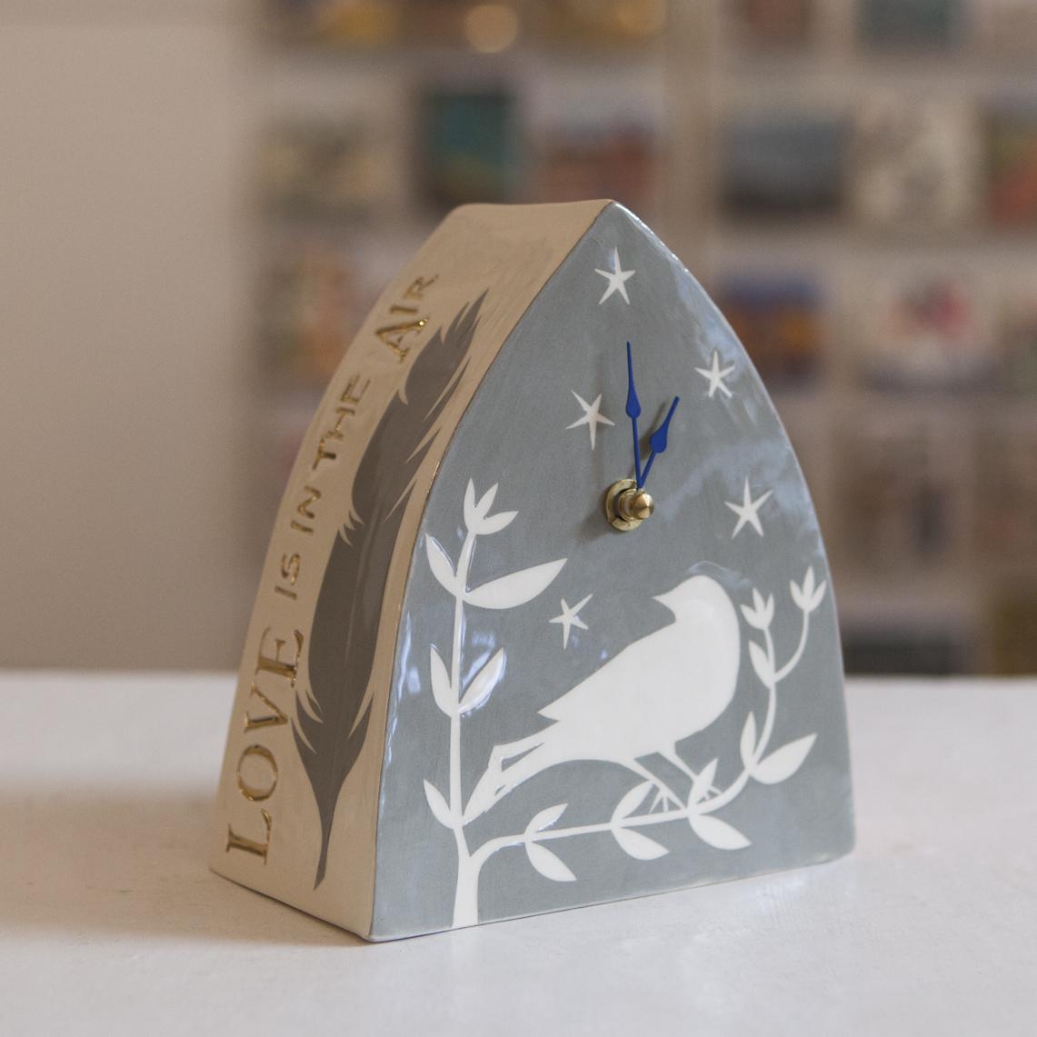 Clock 10  ceramic  sold