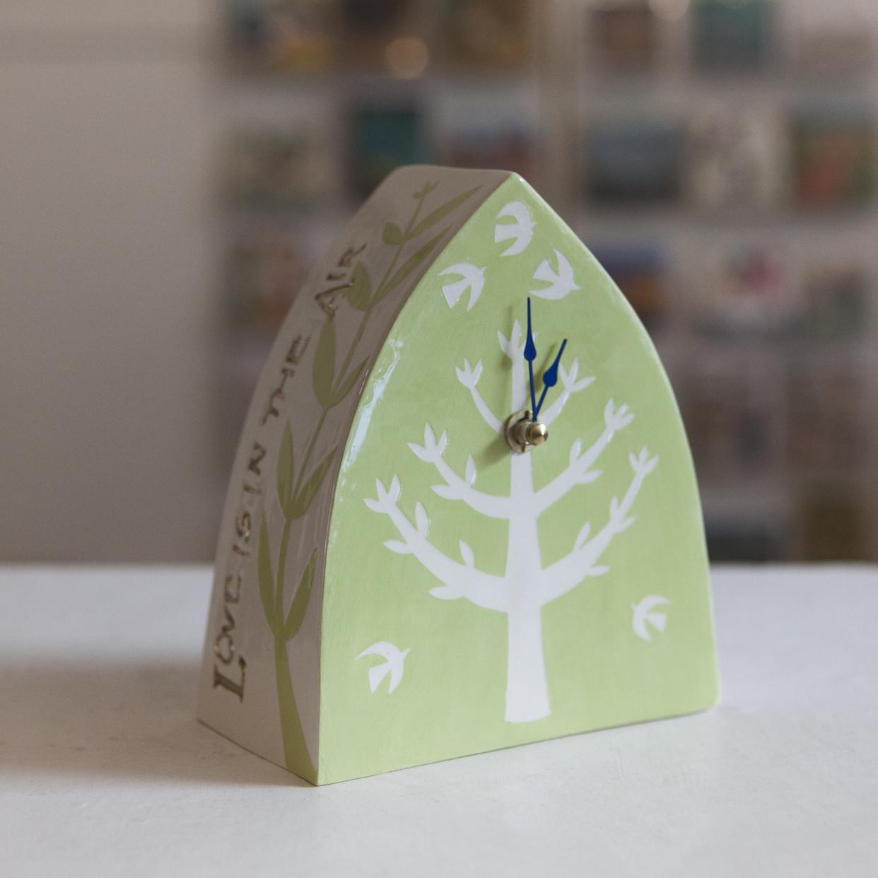 Clock 3  ceramic  sold