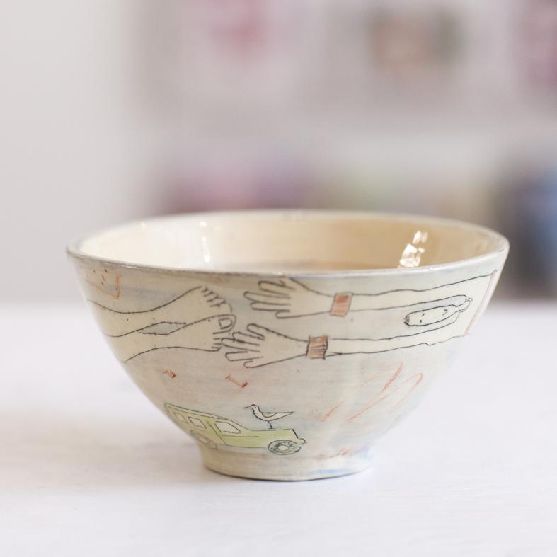 Bowl  ceramic  8 x 15 cm  £33