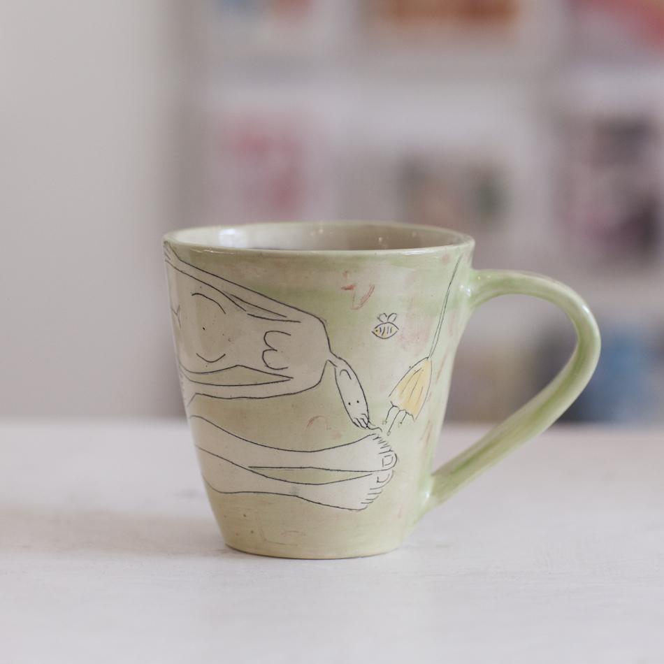 Large Mug  ceramic  10 x 10 cm  £31
