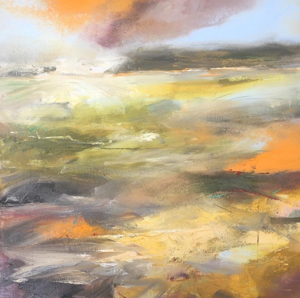 Evensong  Oil on Canvas  65 x 65 cms   £850 (framed)