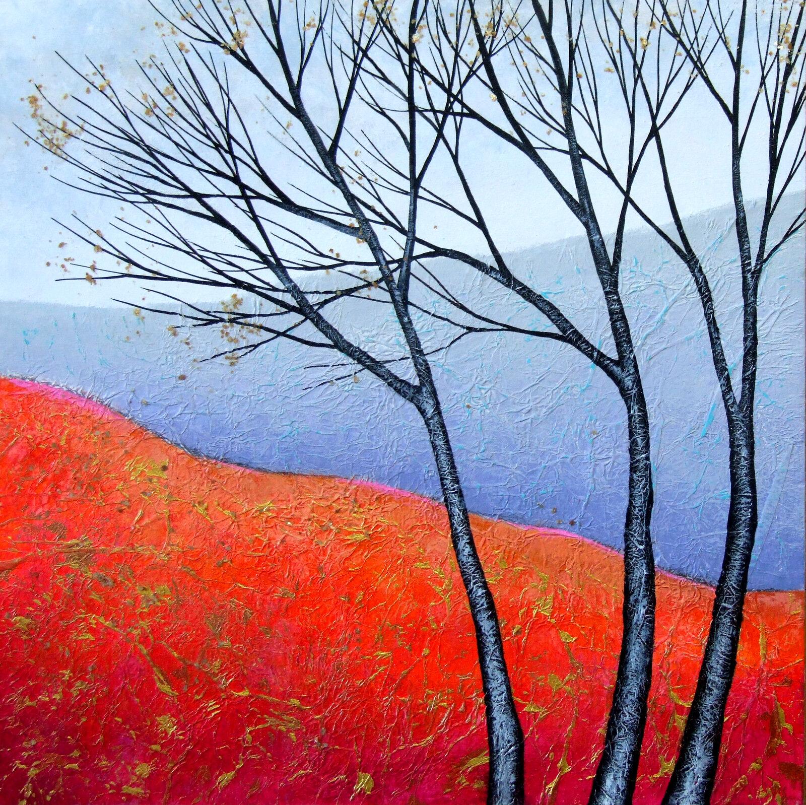 The Burnished Autumn  acrylic  sold