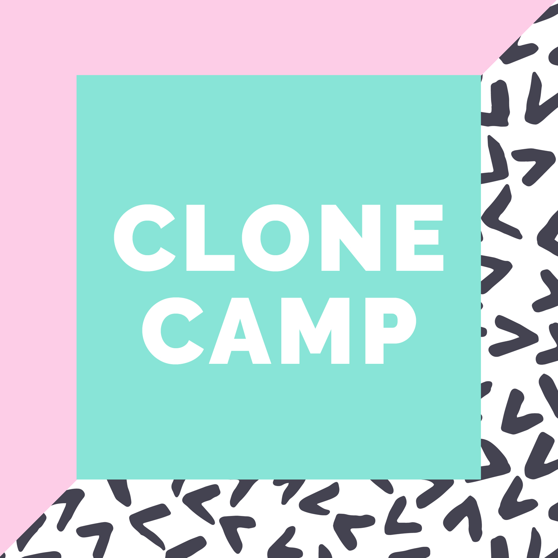 Brand Vibe + Promo Graphics : Amber McCue's Clone Camp