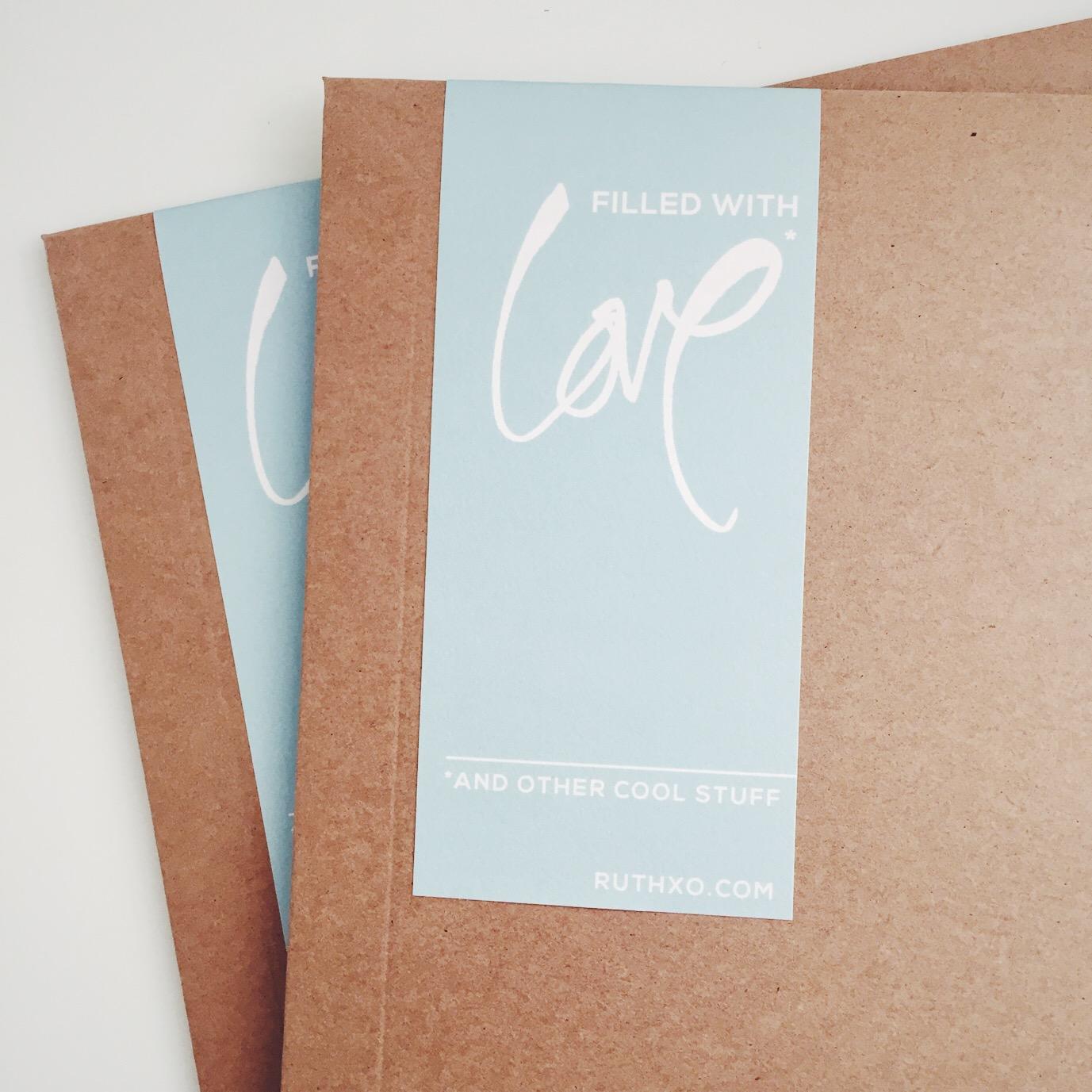 RUTH XO Packaging
