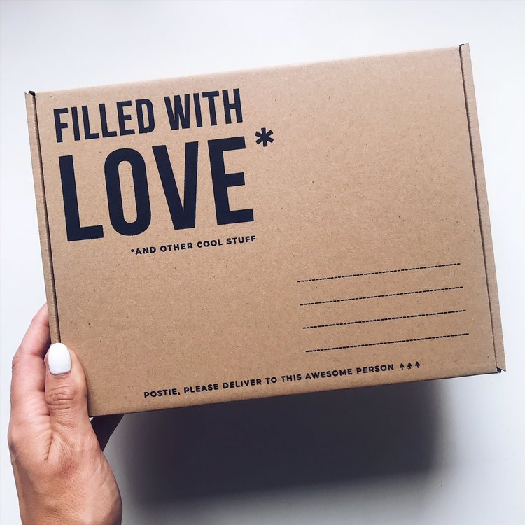 Filled With Love Packaging Design