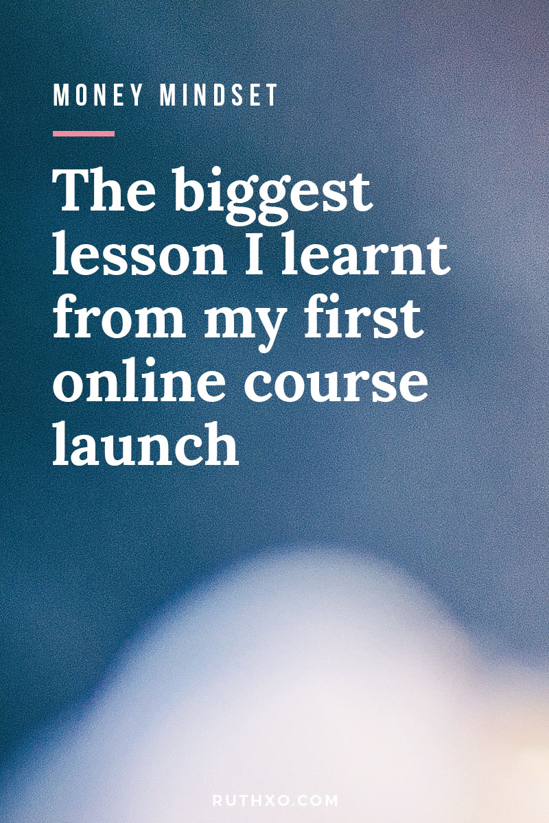 Biggest Lesson from my First Online Course Launch