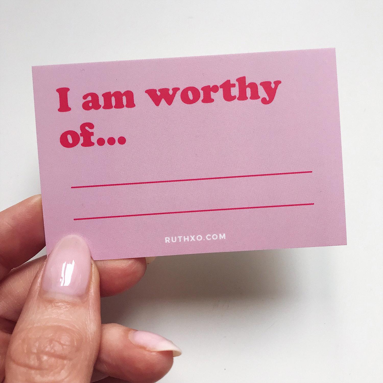 Self Worth Cards