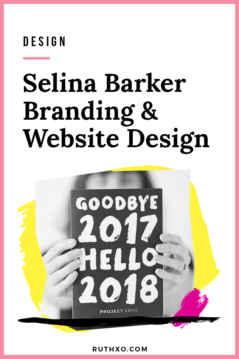 Selina Barker Branding and Website Design