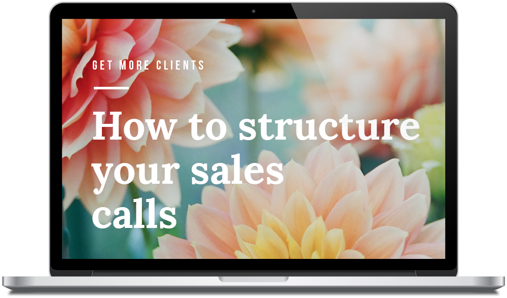 The Designers Hub - How to structure your Sales Calls