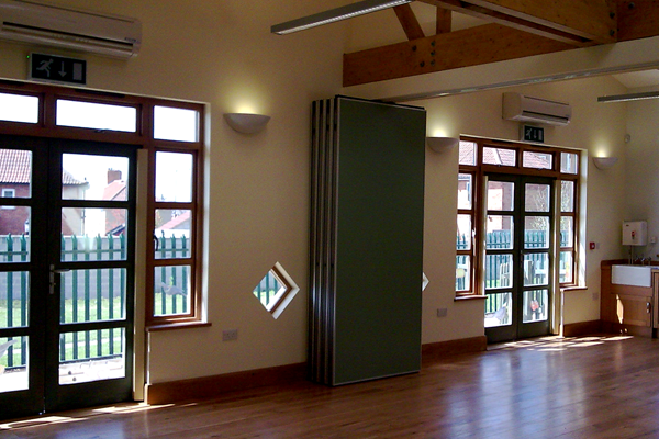 Extension to school building in Bristol. Architects in Bristol maximised the space for the school.