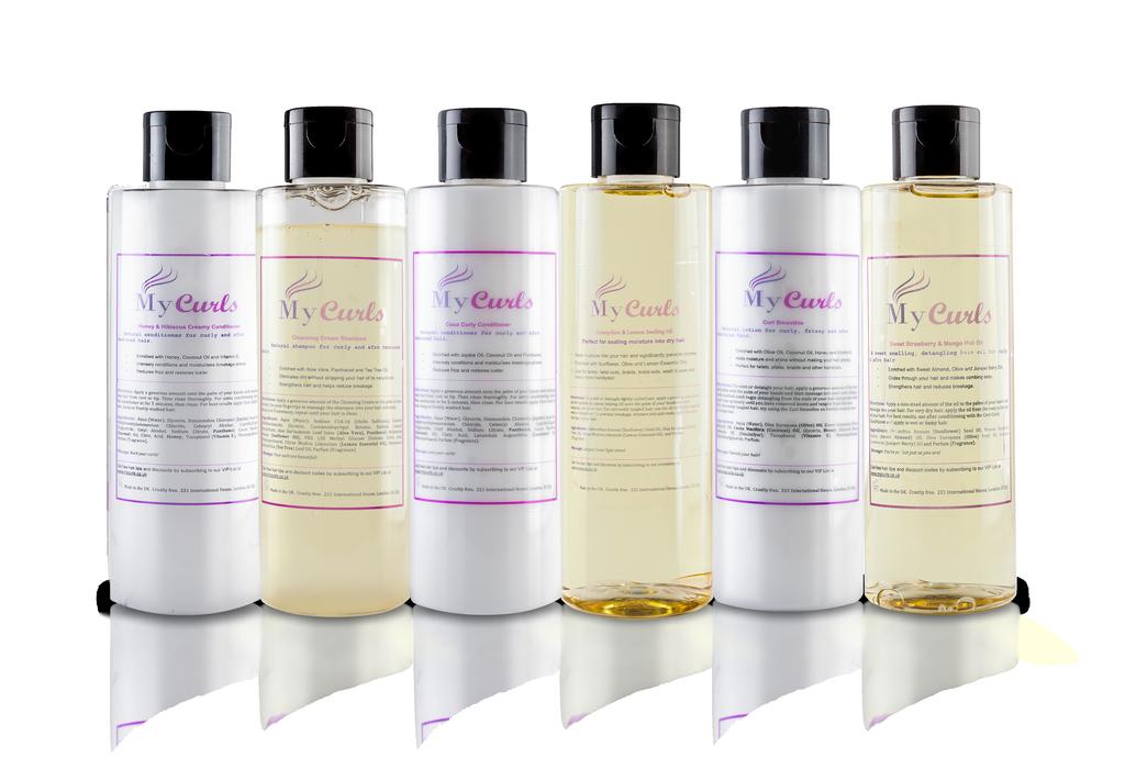 natural hair care hamper