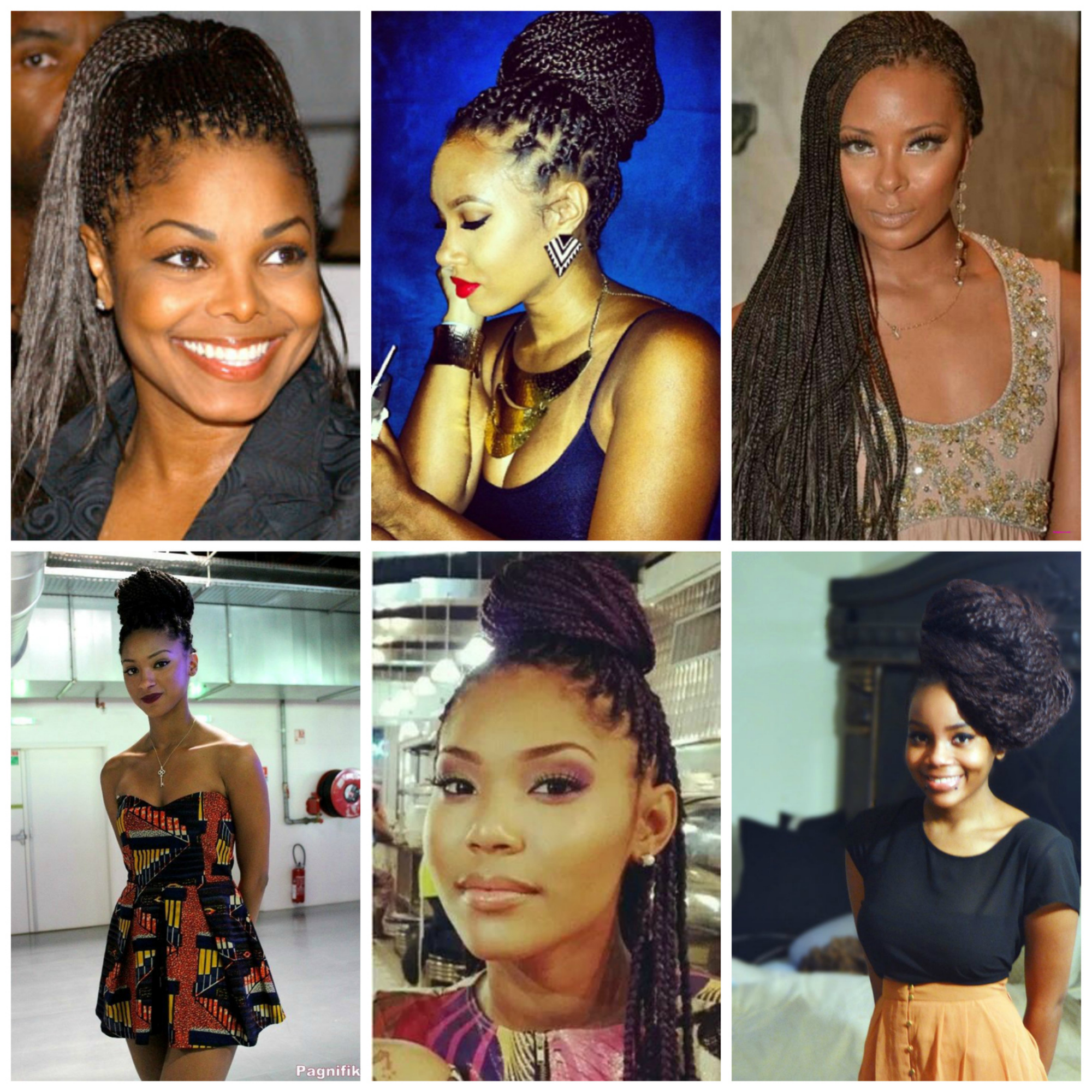 Here are some of our favourite braided hairstyles.