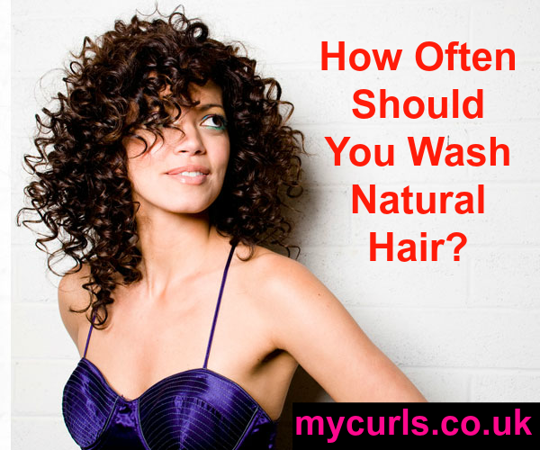 How often should you washnatural hair? Read this article concrete advice.