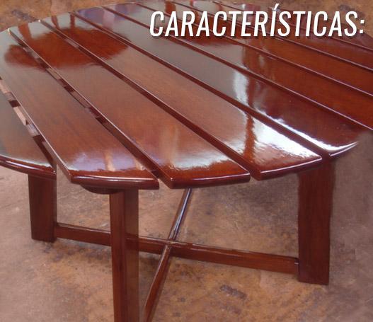 madera mesa barniz protección