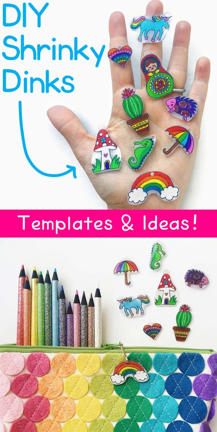 Shrinky Dinks! Find step-by-step instructions on the  OOLY blog .