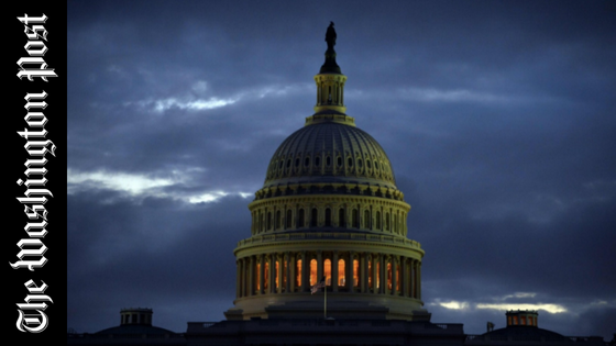 The Capitol dome is shown before sunrise in Washington. (Jewel Samad/AFP/Getty Images)