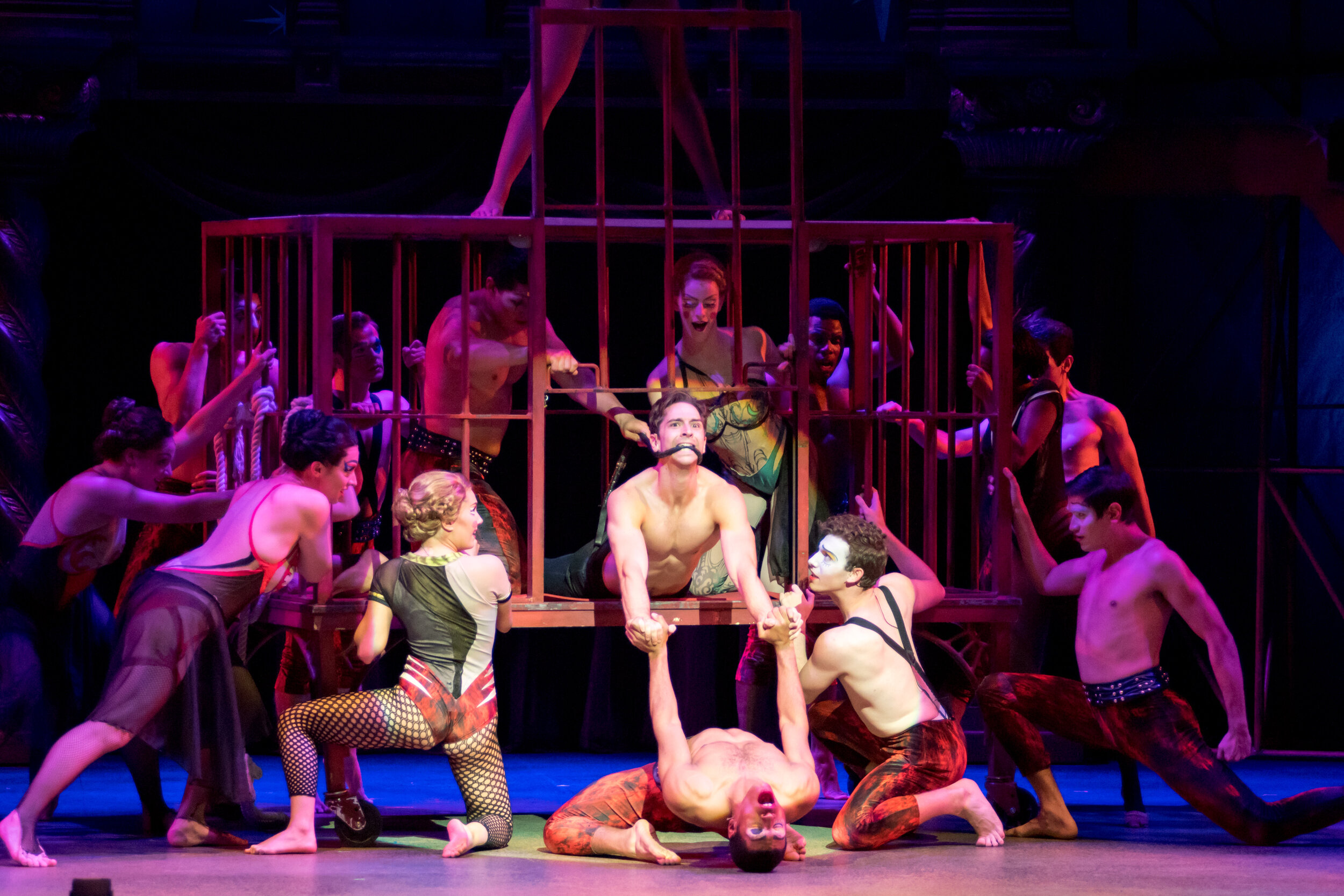"Pippin - ""Everything old is new again. This iteration of Pippin, masterfully directed and choreographed by Al Blackstone, has one foot in the original 1972 Bob Fosse version and the other foot in the 2013 Diane Paulus"