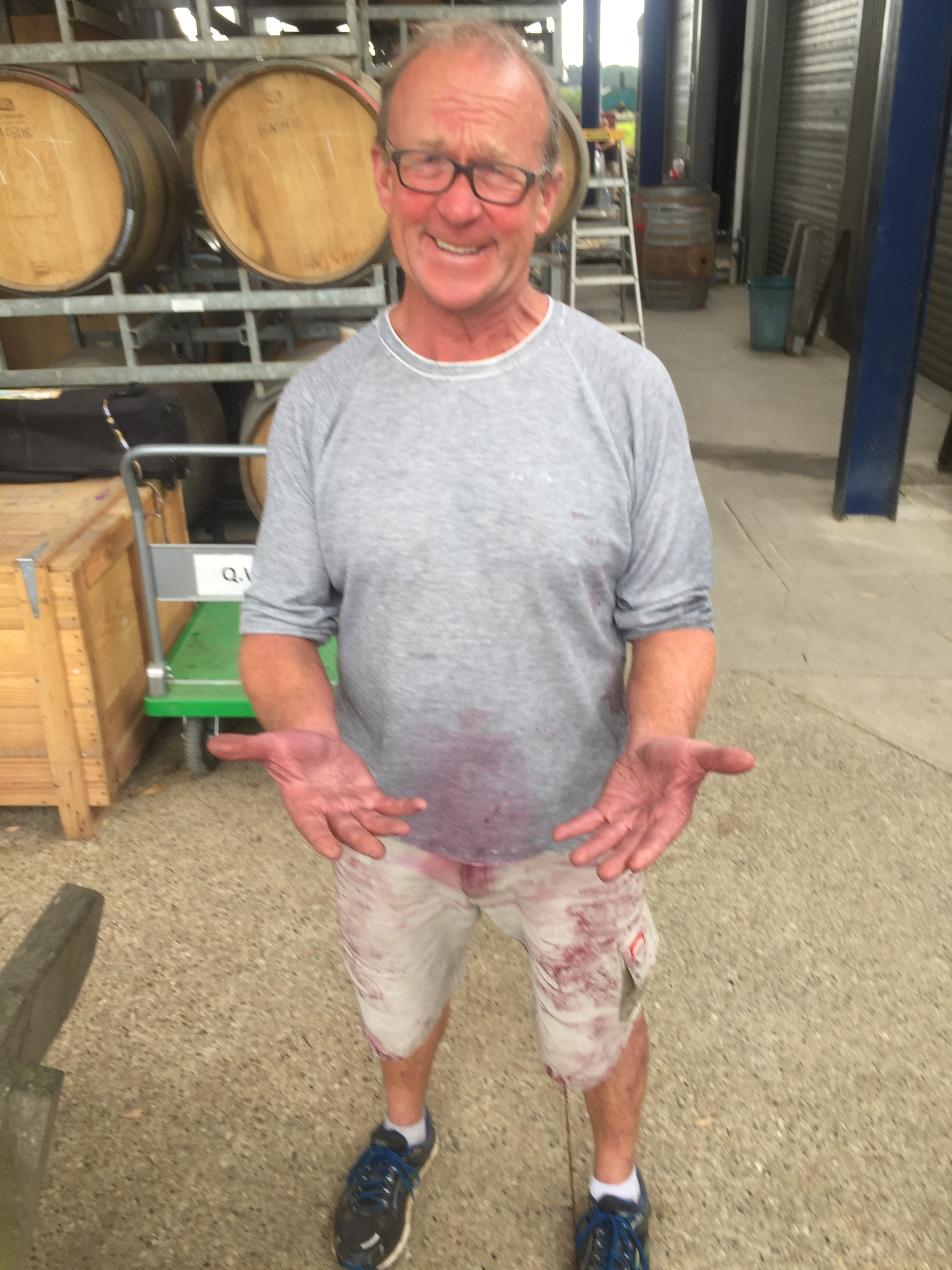 Kevin McCarthy, Winemaker at Quealy
